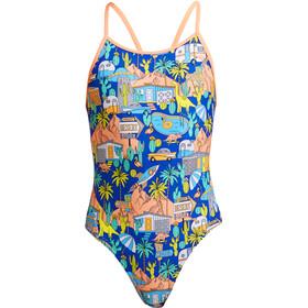 Funkita Diamond Back Swimsuit Girls, Multicolor